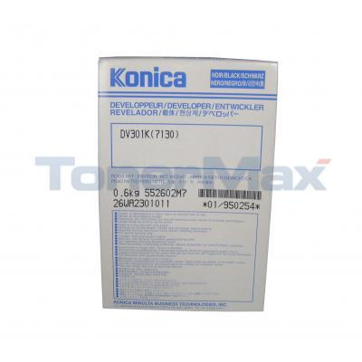 KONICA 7022 DEVELOPER BLACK